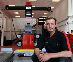 Tony Bones and Jason Saunders welcome you to Blackboots and Wheels in Motion Tyre and Alignment Centre