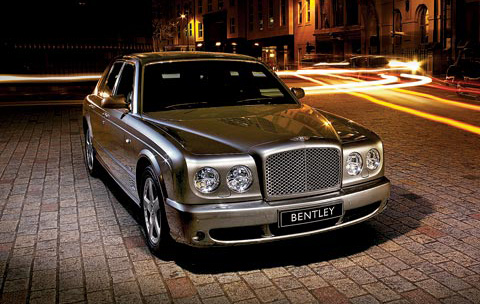 Bentley Arnage tyres and geometry